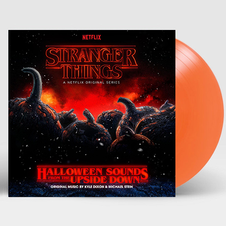 STRANGER THINGS: HALLOWEEN SOUNDS FROM THE UPSIDE DOWN [기묘한 이야기: 할로윈 사운드 에디션] [PUMPKIN ORANGE LP]