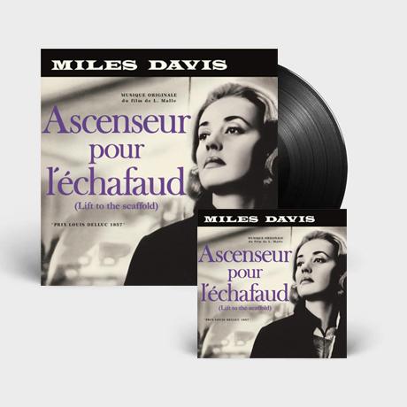 ASCENSEUR POUR L`ECHAFAUD [사형대의 엘리베이터] [180G LP+CD]