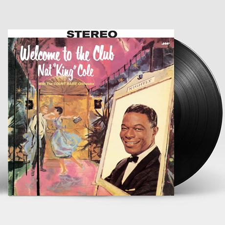 냇 킹 콜 (Nat King Cole) - Welcome to the Club / LP 보호비닐 및 인증 스티커 부착 상품