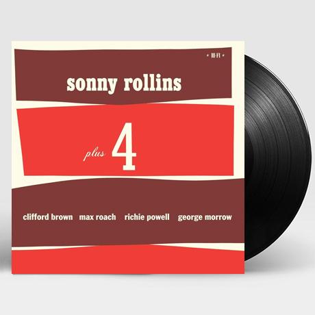 소니 롤린스 (Sonny Rollins) - Plus 4 / LP 보호비닐 및 인증 스티커 부착 상품