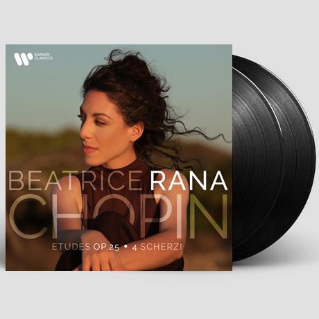 ETUDES OP.25, 4 SCHERZI/ BEATRICE RANA [쇼팽: 연습곡, 스케르초 - 베아트리체 라나] [LP]