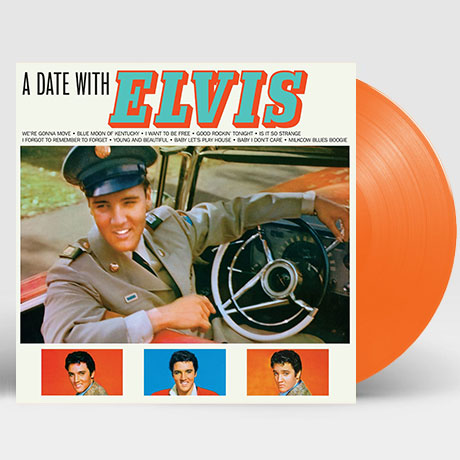 A DATE WITH ELVIS [180G ORANGE LP]