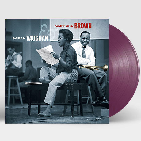 SARAH VAUGHAN & CLIFFORD BROWN [180G PURPLE LP]