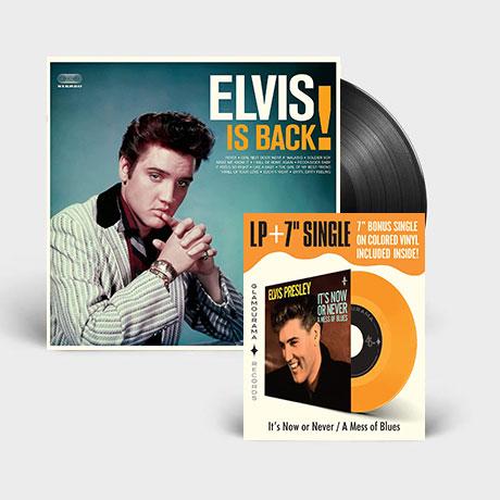 "ELVIS IS BACK! [180G LP+7"" ORANGE SINGLE]"
