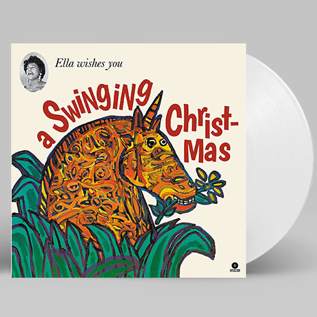 ELLA WISHES YOU A SWINGING CHRISTMAS [180G WHITE LP]