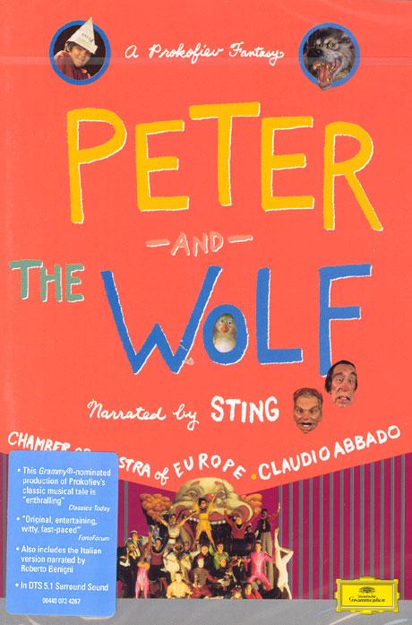 PETER AND THE WOLF/ CLAUDIO ABBADO, STING [프로코피에프: 피터와 늑대/ 아바도, 나레이션 스팅]