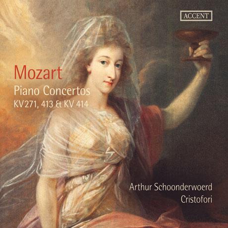 PIANO CONCERTOS KV 271, 413 & 414/ ARTHUR SCHOONDERWOERD, CRISTOFORI [모차르트: 피아노 협주곡 - 스혼데르부르트 & 크리스토포리]