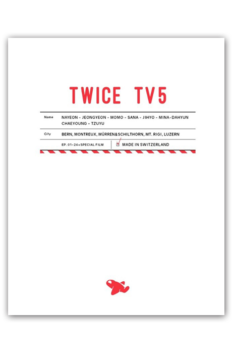 TWICE TV 5 IN SWITZERLAND [3DVD+포토북]