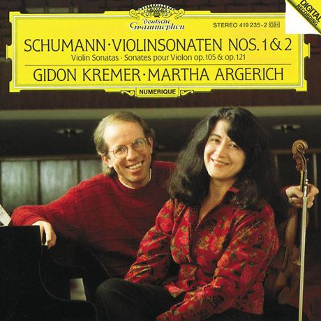 VIOLIN SONATA NOS.1 & 2/ GIDON KREMER, MARTHA ARGERICH [슈만: 바이올린 소나타]
