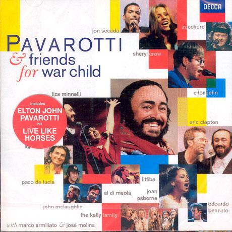 FOR WAR CHILDREN/ PAVROTTI & FRIENDS 4