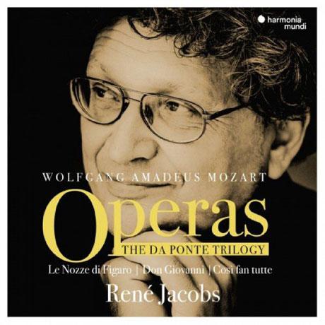 OPERAS: THE DA PONTE TRILOGY/ RENE JACOBS [모차르트: 오페라 다 폰테 3부작 (피가로의 결혼, 돈 지오반니, 코치 판 투테) | 르네 야콥스]