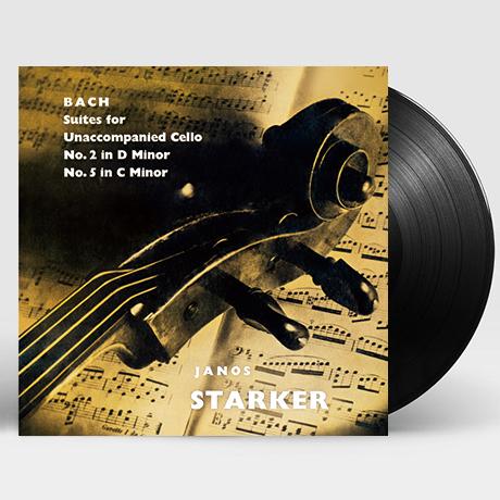 SUITES FOR UNACCOMPANIED CELLO VOL.1/ JANOS STARKER [바흐: 무반주 첼로 모음 전곡 1집 - 야노스 슈타커] [한정반] [180G LP]