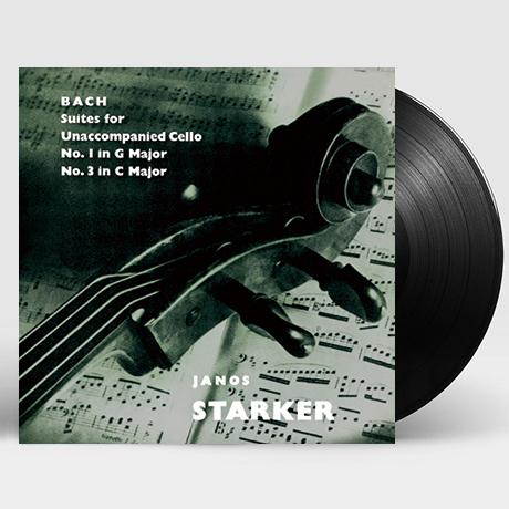 SUITES FOR UNACCOMPANIED CELLO VOL.2/ JANOS STARKER [바흐: 무반주 첼로 모음 전곡 2집 - 야노스 슈타커] [한정반] [180G LP]