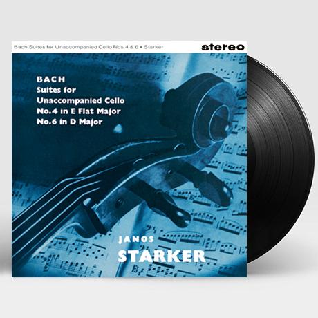 SUITES FOR UNACCOMPANIED CELLO VOL.3/ JANOS STARKER [바흐: 무반주 첼로 모음 전곡 3집 - 야노스 슈타커] [한정반] [180G LP]