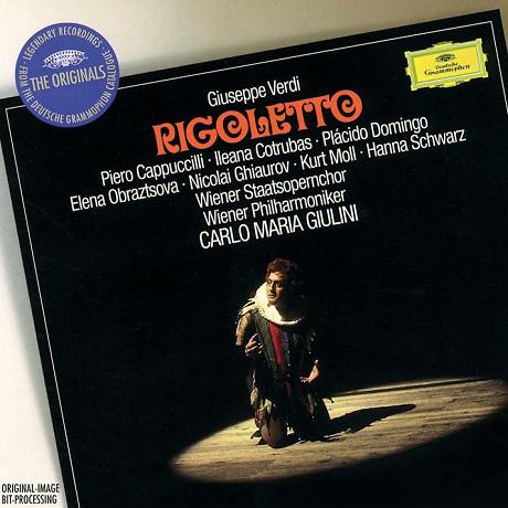 RIGOLETTO/ PLACIDO DOMINGO, CARLO MARIA GIULINI [THE ORIGINALS] [베르디: 리골레토 - 도밍고, 줄리니]