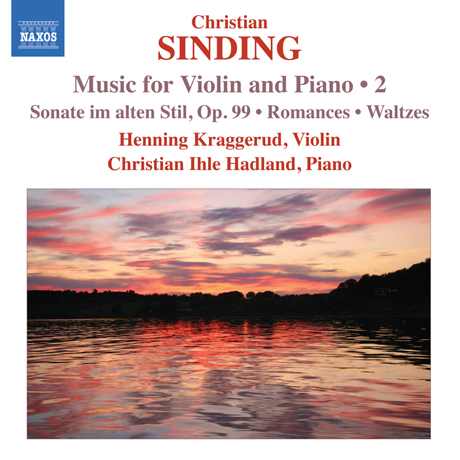 MUSIC FOR VIOLIN AND PIANO 2/ HENNING KRAGGERUD, CHRISTIAN IHLE HADLAND