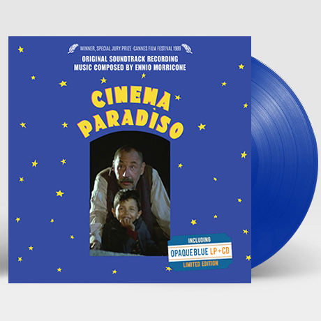 CINEMA PARADISO [시네마 천국] [CINEMA PARADISO [시네마 천국] [CD증정 한정반] [180G BLUE LP]