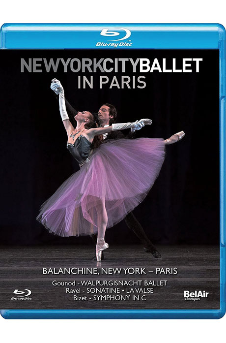 NEW YORK CITY BALLET IN PARIS/ DANIEL CAPPS, GEORGE BALANCHINE [뉴욕발레 인 파리: 발푸르기스의 밤, 라 발스, 교향곡 C장조 - 발란신]