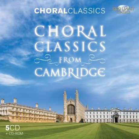 CHORAL CLASSICS FROM CAMBRIDGE [5CD+CD-ROM]