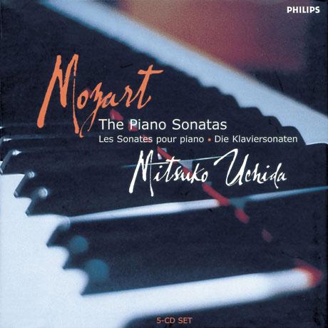 THE PIANO SONATAS/ MITSUKO UCHIDA [모차르트: 피아노 소나타 - 미츠코 우치다]