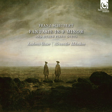 FANTASIE IN F MINOR AND OTHER PIANO DUETS/ ANDREAS STAIER, ALEXANDER MELNIKOV [슈베르트: 두 손을 위한 피아노 환상곡 - 슈타이어 & 멜니코프]