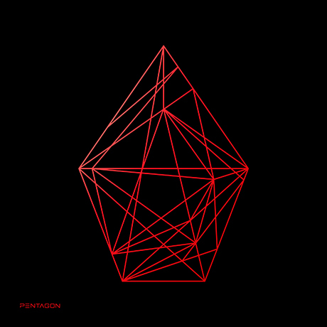 UNIVERSE: THE BLACK HALL [UPSIDE VER] [정규 1집]