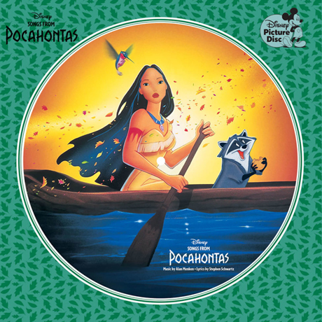 SONGS FROM POCAHONTAS [송즈 프롬 포카혼타스] [PICTURE DISC LP]