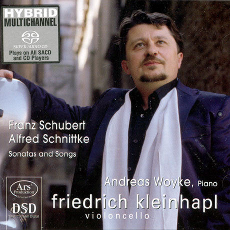 SONATAS AND SONGS/ FRIEDRICH KLEINHAPL [SACD HYBRID] [슈베르트: 첼로소나타,가곡(첼로연주)]
