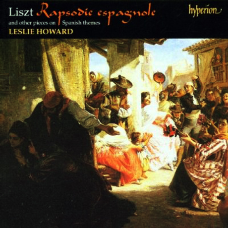RAPSODIE ESPAGNOLE AND OTHER PIECES ON SPANISH THEMES/ LESLIE HOWARD [리스트 에디션 45]
