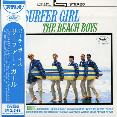 SURFER GIRL [JAPAN LP SLEEVE]