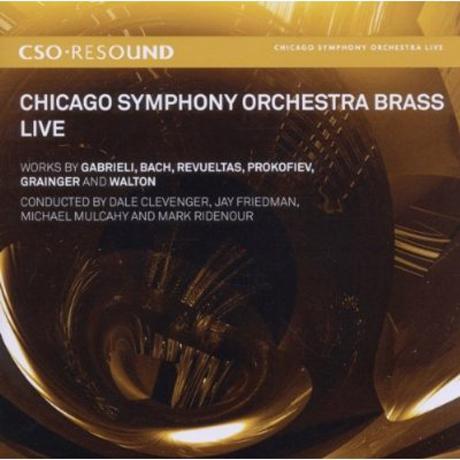 CHICAGO SYMPHONY ORCHESTRA BRASS LIVE/ DALE CLEVENGER [SACD HYBRID]