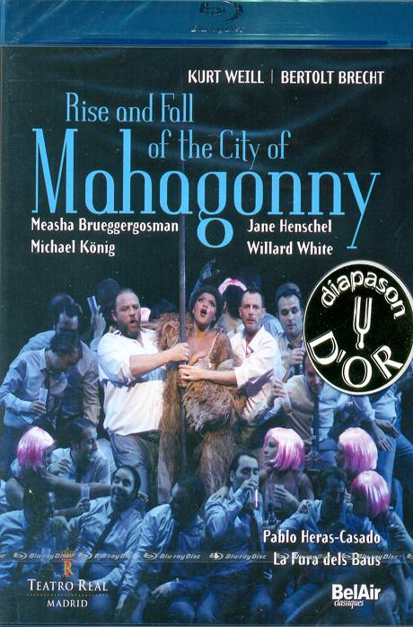 RISE AND FALL OF THE CITY OF MAHAGONNY/ PABLO HERAS-CASADO [바일: 마하고니시의 홍망성쇠] [블루레이 전용플레이어 사용]