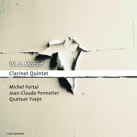 CLARINET QUINTET/ MICHEL PORTAL, QUATUOR YSAYE