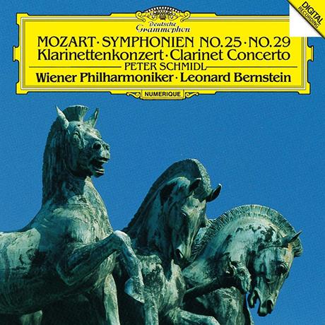 SYMPHONIES NOS.25 & 29/ LEONARD BERNSTEIN [UHQCD] [모차르트: 교향곡 25, 29번 - 번스타인] [한정반]