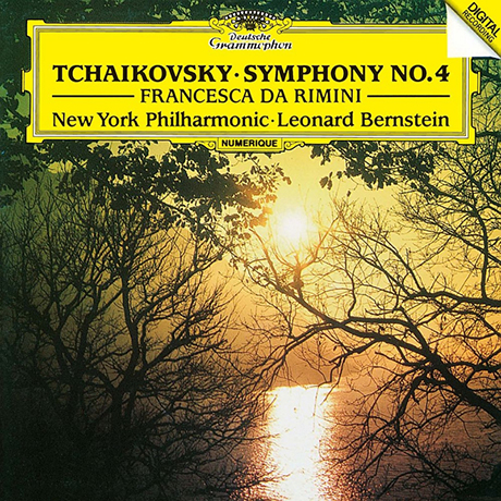 SYMPHONY NO.4 & FRANCESCA DA RIMINI/ LEONARD BERNSTEIN [UHQCD] [차이코프스키: 교향곡 4번 & 프란체스카 다 리미니 - 번스타인] [한정반]