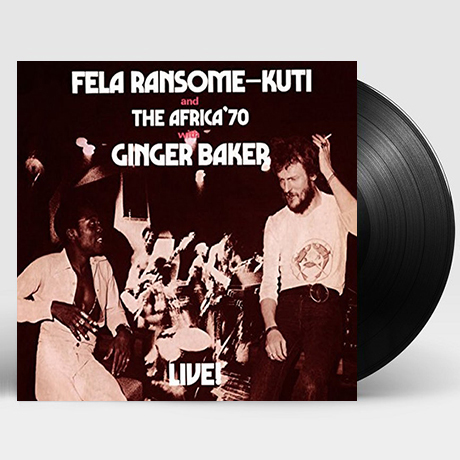 FELA WITH GINGER BAKER LIVE! [LP]