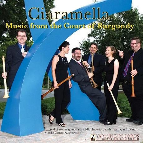 MUSIC FROM THE COURT OF BURGUN/ CIARAMELLA [부르고뉴 궁정 음악 - 앙상블 키아라멜라]