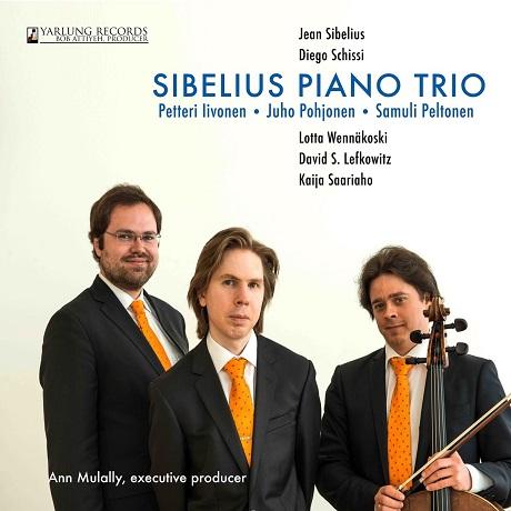 PIANO TRIO/ PETTERI IIVONEN, JUHO POHJONEN, SAMULI PELTONEN [시벨리우스: 세 개의 피아노 삼중주곡 외]