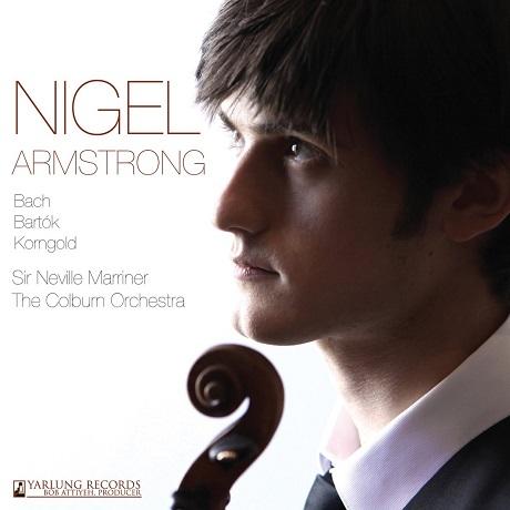VIOLIN SONATAS & CONCERTO/ NIGEL ARMSTRONG, NEVILLE MARRINER [바르톡, 바흐: 무반주 바이올린 소나타 3번, 코른골트: 바이올린 협주곡 - 나이젤 암스트롱]
