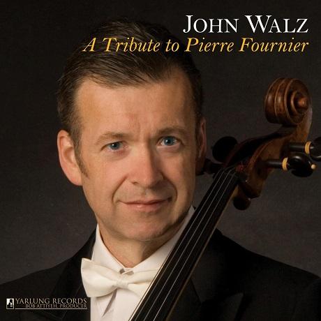 A TRIBUTE TO PIERRE FOURNIER/ JOHN WALZ [피에르 푸르니에 추모앨범: 마르티누, 비발디, 쿠프랭 - 존 월즈]