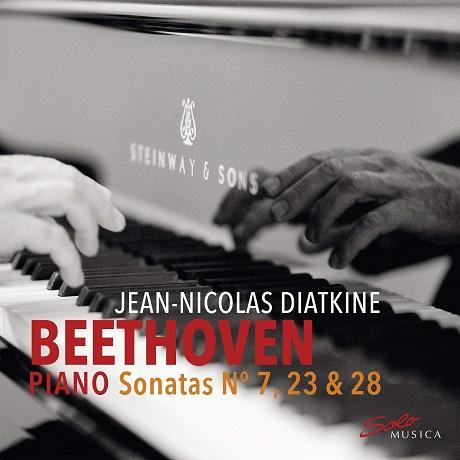 PIANO SONATAS NOS.7, 23 & 28 JEAN-NICOLAS DIATKINE [베토벤: 피아노 소나타 7, 23번 '열정', 28번 - 장 니콜라 디아트킨]