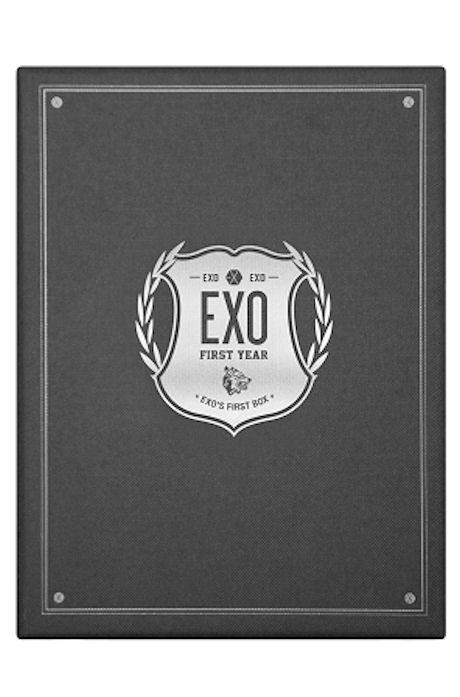 FIRST YEAR: EXO`S FIRST BOX [4DVD+이어폰 줄 와인더]
