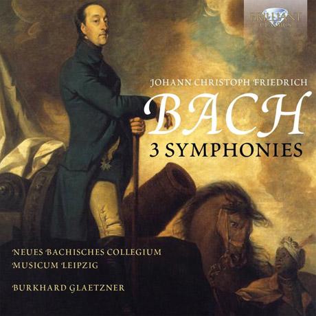 3 SYMPHONIES/ BURKHARD GLAETZNER [J.C.F. 바흐: 3개의 교향곡]