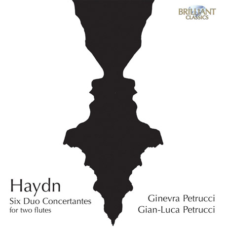 SIX DUO CONCERTANTES FOR TWO FLUTES/ GINEVRA PETRUCCI, GIAN-LUCA PETRUCCI [하이든: 두대의 플룻을 위한 6개의 듀오 콘체르탄테]