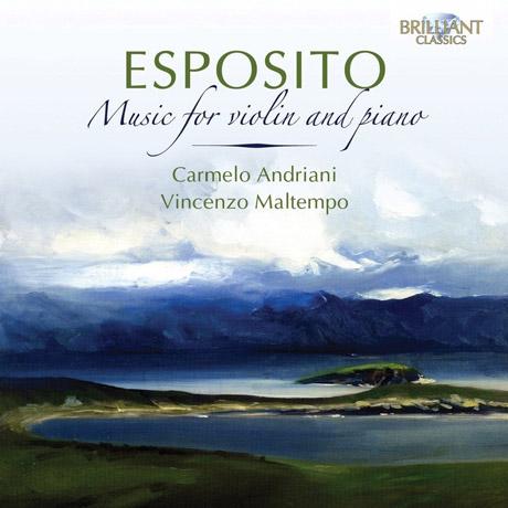 MUSIC FOR VIOLIN AND PIANO/ CARMELO ANDRIANI, VINCENZO MALTEMPO [에스포지토: 바이올린과 피아노를 위한 작품]