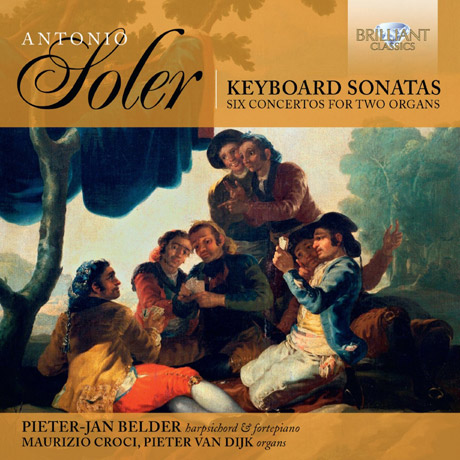 KEYBOARD SONATAS & SIX CONCERTOS FOR TWO ORGANS/ PIETER-JAN BELDE [솔레르: 키보드 소나타와 2대의 오르간을 위한 협주곡]