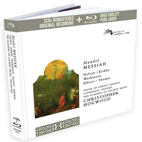 MESSIAH/ CHRISTOPHER HOGWOOD [2CD+BLU-RAY AUDIO] [헨델: 메시아]