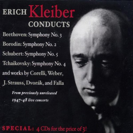 ERICH KLEIBER CONDUCTS FOUR COMPLETE CONCERTS WITH THE NBC SYMPHONY