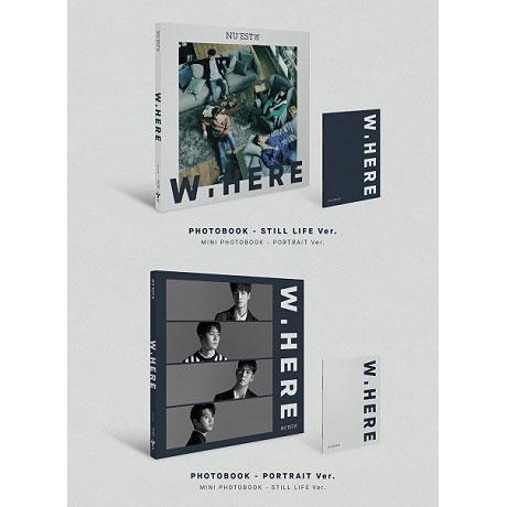 W. HERE [NEW ALBUM] [2종 패키지]