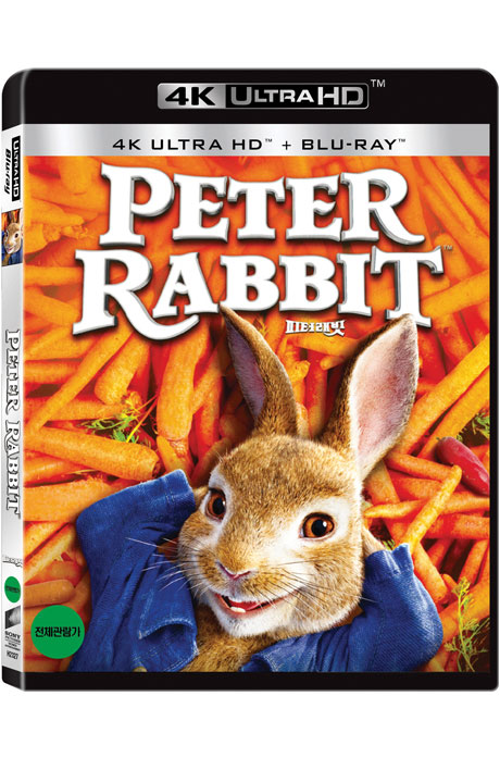 피터 래빗 4K UHD+BD [PETER RABBIT]